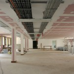 Chantier plafond suspendu